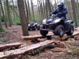 Quad Biking Manchester – Woodland Trek Experience for Two
