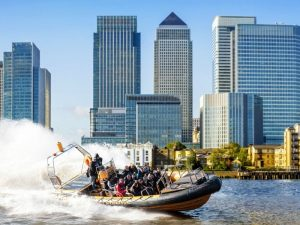 River Thames RIB Sightseeing & Speedboat Experience for Two
