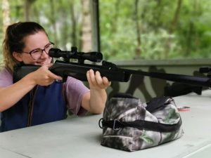 Air Rifle Shooting Woodland Experience in Manchester for Two