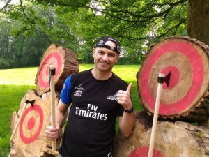Axe Throwing Manchester – Outdoor Axe Throwing Experience for Two