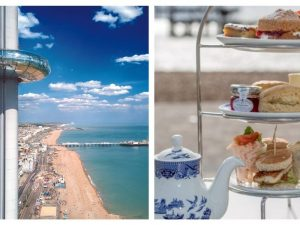 British Airways i360 Flight with Afternoon Tea for Two