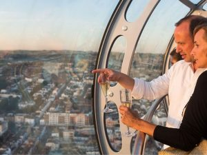 British Airways i360 Flight with Afternoon Tea and Sparkling Wine for Two