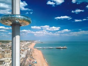 British Airways i360 Tickets with Sparkling Wine for Two