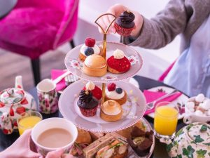 Traditional Afternoon Tea in Covent Garden for Two at Brigit's Bakery