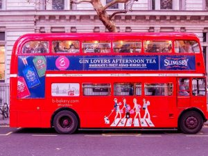 Vintage London Bus Tour with Slingsby Gin and Afternoon Tea for Two with Bridgit's Bakery